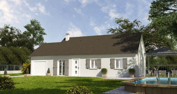 Maison - 5 pièce(s) - 89 m² 149437 Auxonne (21130)