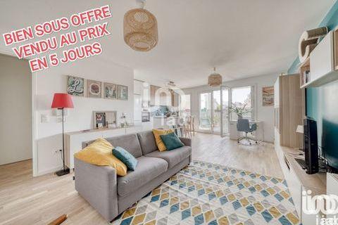Vente Appartement 3 pièces 490000 Bagnolet (93170)