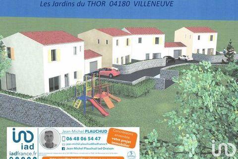 Vente Maison/villa 4 pièces 202900 Villeneuve (04180)