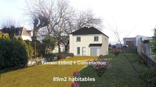 Annonce vente maison pithiviers 45300 89 m 175 000 for Garage pommier beaune la rolande