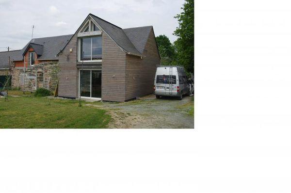 Annonce vente maison derval 44590 145 m 153 700 for Maison en pierre a renover