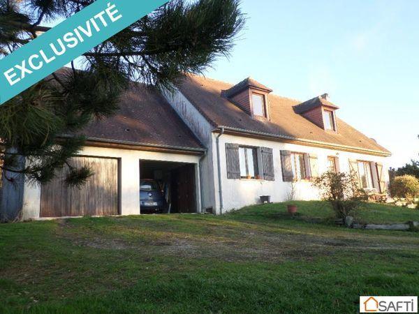 Annonce vente maison pr treville 14140 150 m 149 900 for Jardin 150m2