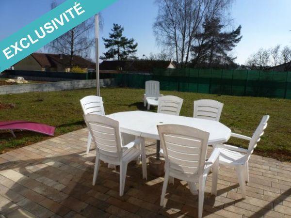 Annonce vente maison briey 54150 125 m 245 000 for Vente maison individuelle briey