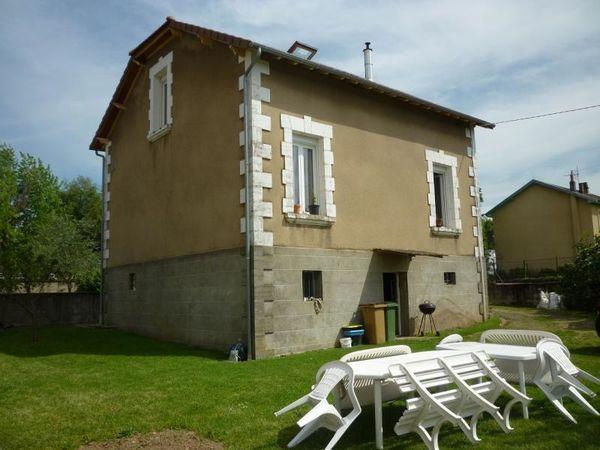 Annonce vente maison capdenac gare 12700 105 m 118 for Jardin 800m2