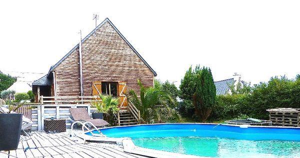 Annonce vente maison lorient 56100 125 m 199 000 for Piscine lorient