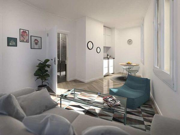 Appartement - 1 pièce(s) - 20 m² 115000 Montpellier (34000)