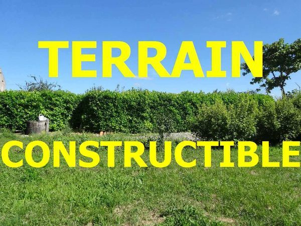 Vente Terrain Terrain constructible  à Ruelle sur touvre