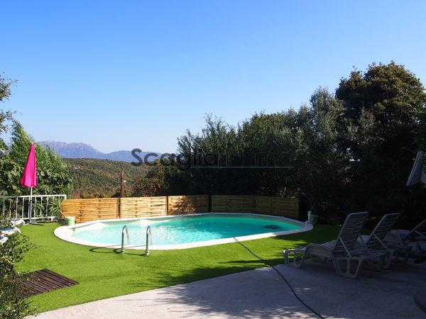 Annonce vente maison albitreccia 20128 150 m 399 000 992739254137 - Belle villa avec piscine ...