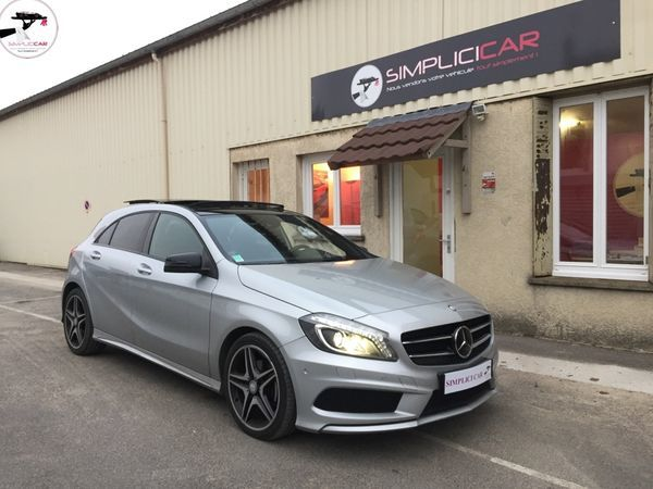 voiture mercedes classe a 200 cdi blueefficiency fascination 7 g dct a occasion diesel 2014. Black Bedroom Furniture Sets. Home Design Ideas