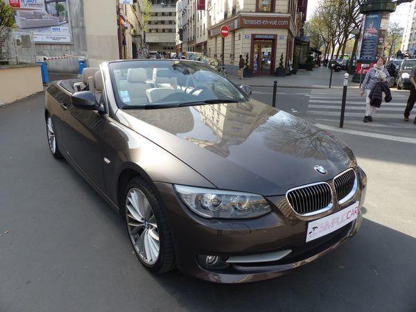 voiture bmw cab 325d 204 ch luxe a occasion diesel 2010 70000 km 24990 paris paris. Black Bedroom Furniture Sets. Home Design Ideas