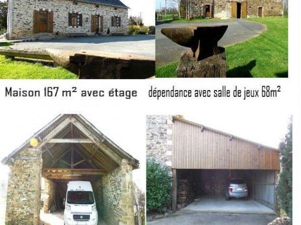 Maison - 8 pièce(s) - 167 m² 353600 Ch�teau-Gontier (53200)