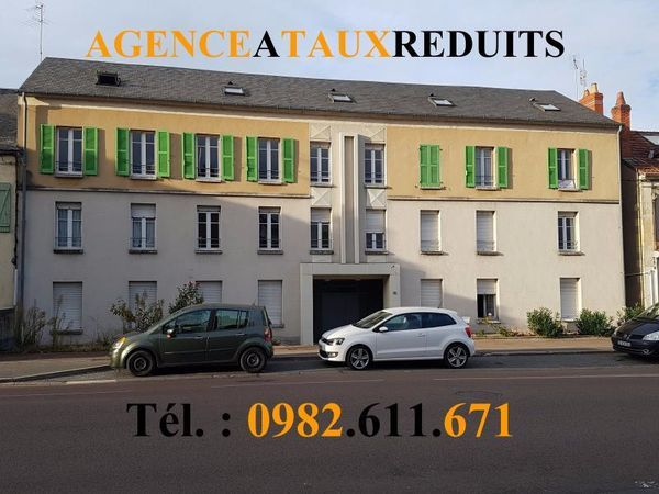 Agence a taux reduits agence immobili re nevers 58000 for Nevers code postal