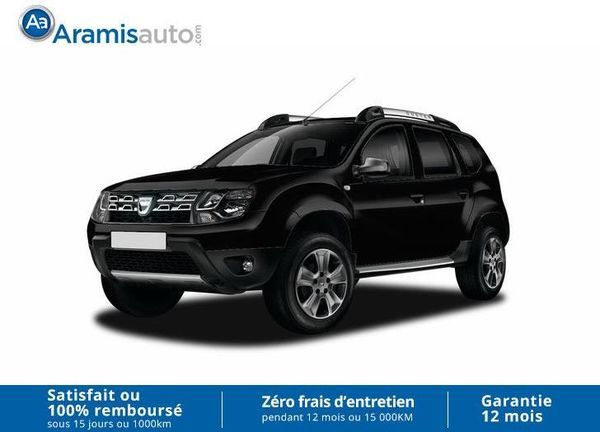voiture dacia duster 1 2 tce 125 4x4 black touch cuir occasion essence 2016 10 km 17490. Black Bedroom Furniture Sets. Home Design Ideas
