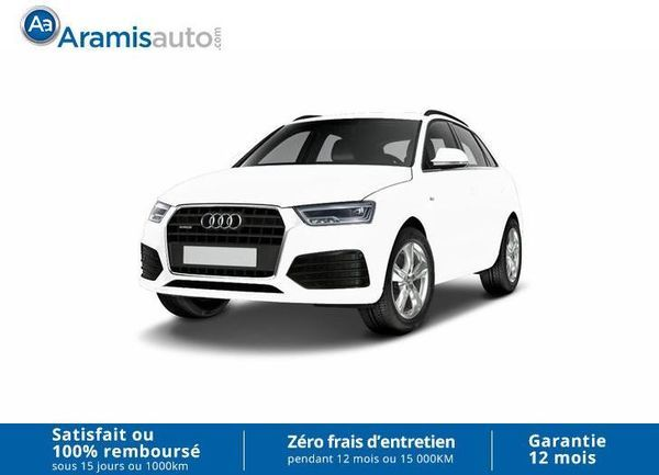 voiture audi q3 2 0 tdi 150 auto 4x4 ambiente sur quip gps occasion diesel 2016 10 km. Black Bedroom Furniture Sets. Home Design Ideas