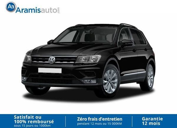 voiture volkswagen tiguan 2 0 tdi 150 4x4 auto confortline led gps occasion diesel 2017 10. Black Bedroom Furniture Sets. Home Design Ideas