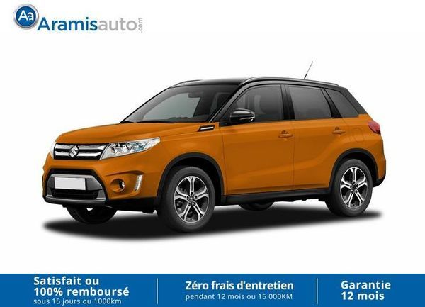 voiture suzuki vitara 1 6 vvt 4x4 pack allgrip sur quip occasion essence 2016 10 km. Black Bedroom Furniture Sets. Home Design Ideas
