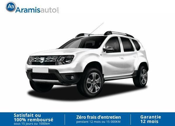 voiture dacia duster 1 5 dci 110 4x4 black touch occasion diesel 2017 10 km 18390. Black Bedroom Furniture Sets. Home Design Ideas