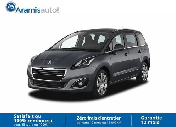 voiture peugeot 5008 1 6 hdi 120 allure occasion diesel 2017 10 km 24579 clermont. Black Bedroom Furniture Sets. Home Design Ideas