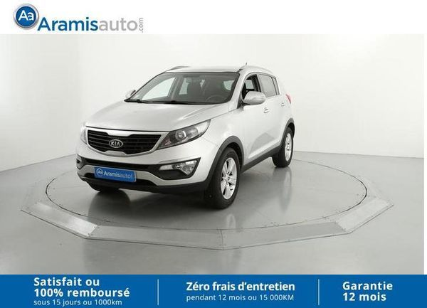 voiture kia sportage 1 7 crdi 115 isg 2wd active occasion diesel 2010 112274 km 11990. Black Bedroom Furniture Sets. Home Design Ideas