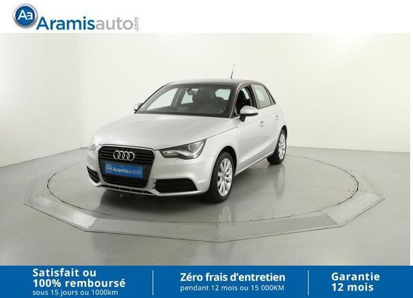voiture audi a1 1 2 tfsi 86 ambiente x nons surequip occasion essence 2013 38910 km. Black Bedroom Furniture Sets. Home Design Ideas