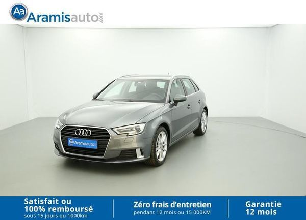 voiture audi a3 2 0 tdi 150 sport gps sur quip e occasion diesel 2016 7874 km 26990. Black Bedroom Furniture Sets. Home Design Ideas