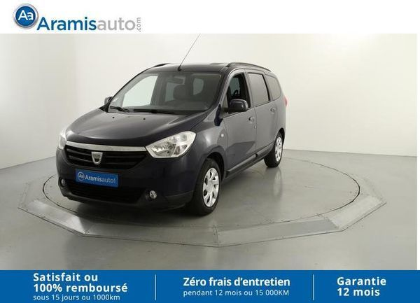voiture dacia lodgy 1 2 t 115 ch laur ate occasion essence 2013 49160 km 10790. Black Bedroom Furniture Sets. Home Design Ideas