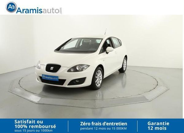 voiture seat leon 1 6 tdi 105 style ecomotive occasion diesel 2011 59811 km 10490. Black Bedroom Furniture Sets. Home Design Ideas