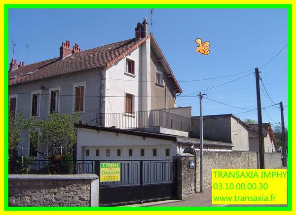 Annonce vente maison imphy 58160 98 m 42 500 for Vente maison individuelle surface habitable