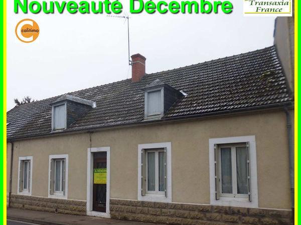 Annonce vente maison sancoins 18600 95 m 57 500 for Achat premiere maison