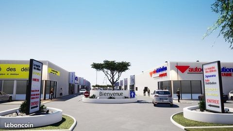Local commercial 600 m²