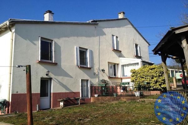 Annonce vente maison dieuze 57260 130 m 106 000 for Calcul surface habitable maison individuelle