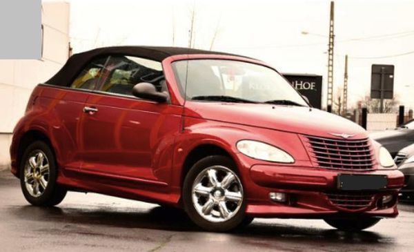 voiture chrysler pt cruiser cabriolet 2 4 143 limited cuir occasion essence 2004 63500 km. Black Bedroom Furniture Sets. Home Design Ideas