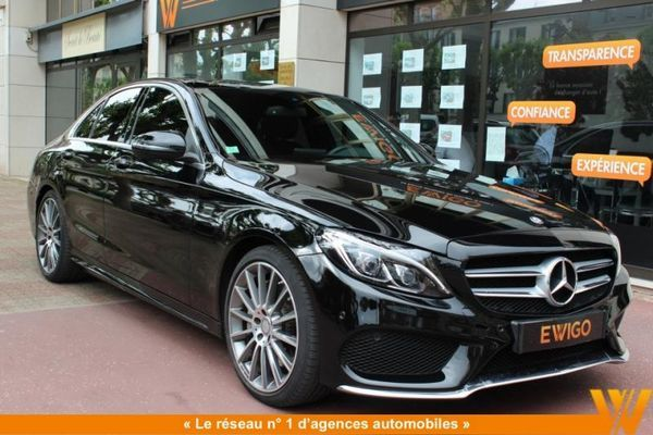 voiture mercedes classe c 300 h sportline pack amg. Black Bedroom Furniture Sets. Home Design Ideas