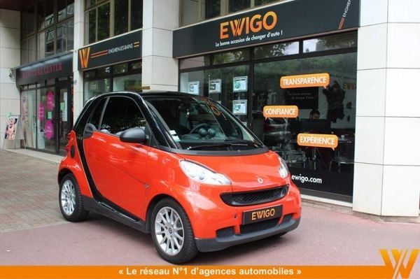 voiture smart fortwo ii coupe passion mhd 52kw softouch occasion essence 2008 60200 km. Black Bedroom Furniture Sets. Home Design Ideas