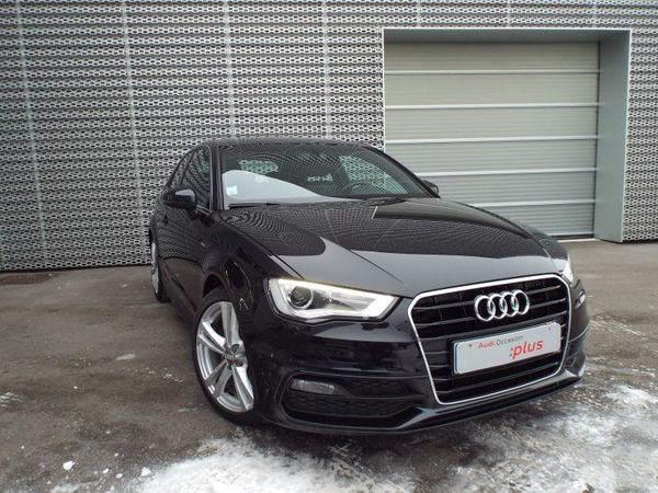 voiture audi a3 3p 2 0 tdi 150cv s line occasion diesel 2014 44138 km 24900 lons le. Black Bedroom Furniture Sets. Home Design Ideas