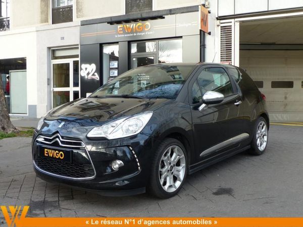 voiture citro n ds3 1 6 hdi 110 ch airdream sport chic occasion diesel 2011 79000 km. Black Bedroom Furniture Sets. Home Design Ideas