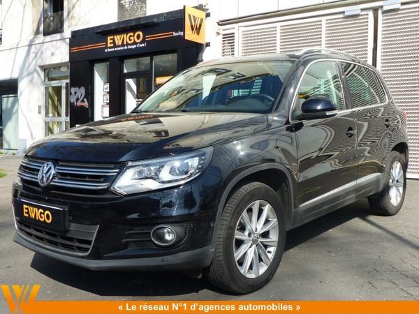 voiture volkswagen tiguan 2 0 tdi 140 dsg7 4motion carat occasion diesel 2014 55600 km. Black Bedroom Furniture Sets. Home Design Ideas