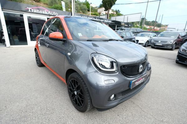 voiture smart forfour 1 0 71 ch s s edition 1 occasion essence 2015 22000 km 9990. Black Bedroom Furniture Sets. Home Design Ideas