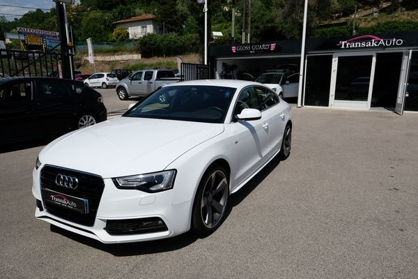 voiture audi a5 sportback 2 0 tdi 190 clean diesel s line occasion diesel 2014 95000 km. Black Bedroom Furniture Sets. Home Design Ideas