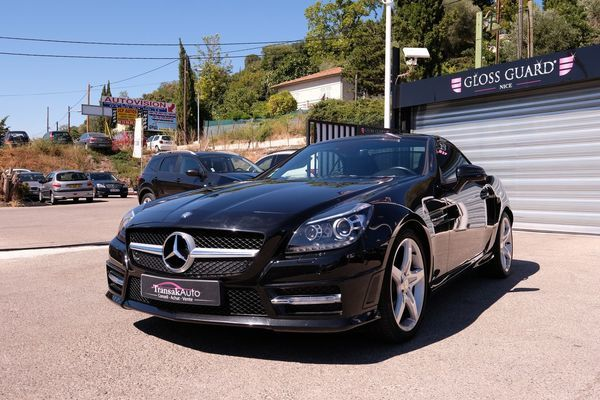 voiture mercedes slk 200 k a occasion essence 2011 70100 km 24990 nice alpes. Black Bedroom Furniture Sets. Home Design Ideas