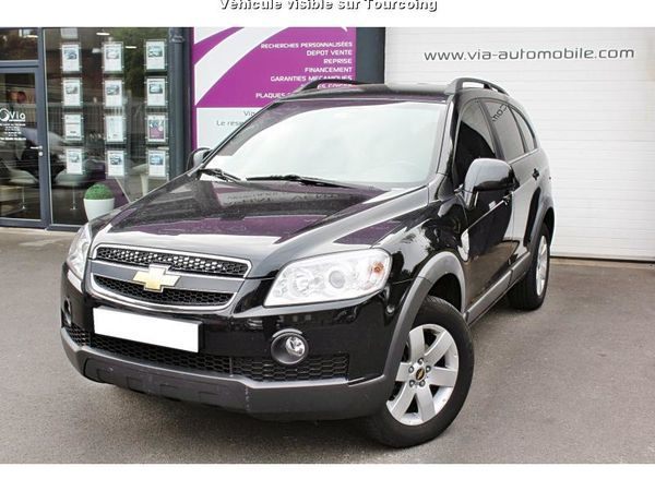 voiture chevrolet captiva occasion diesel 2011 138000 km 10490 tourcoing nord. Black Bedroom Furniture Sets. Home Design Ideas