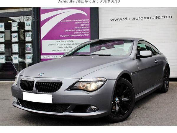 voiture bmw s rie 6 occasion diesel 2008 176000 km 19490 tourcoing nord 992737025719. Black Bedroom Furniture Sets. Home Design Ideas