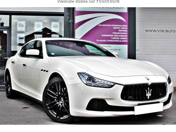 via automobile tourcoing maserati ghibli 3 0 v6 275 diesel tourcoing 59200 annonce 0061 0002950. Black Bedroom Furniture Sets. Home Design Ideas