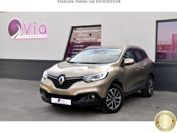 voiture renault kadjar occasion diesel 2016 23000 km. Black Bedroom Furniture Sets. Home Design Ideas