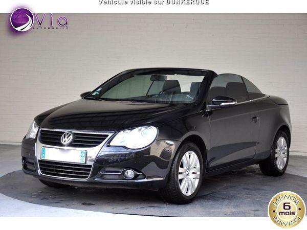voiture volkswagen eos 1 4 tsi 122 sportline occasion essence 2010 111000 km 8990. Black Bedroom Furniture Sets. Home Design Ideas