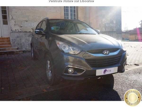voiture hyundai ix35 occasion diesel 2010 143000 km 11490 libourne gironde. Black Bedroom Furniture Sets. Home Design Ideas