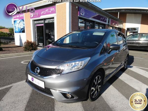 voiture nissan note 1 2 dig s 98 black line gps occasion essence 2014 26000 km 10950. Black Bedroom Furniture Sets. Home Design Ideas