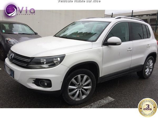 voiture volkswagen tiguan occasion diesel 2012 107000 km 17990 nice alpes maritimes. Black Bedroom Furniture Sets. Home Design Ideas