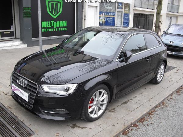 voiture audi a3 2 0 tdi 150 ambition luxe gps cuir occasion diesel 2012 70480 km 17490. Black Bedroom Furniture Sets. Home Design Ideas
