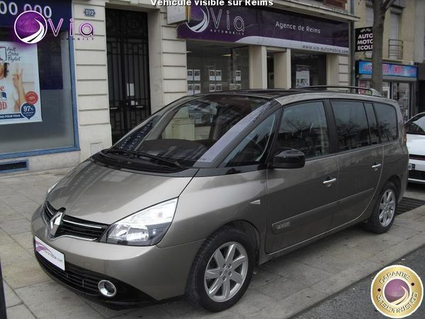 voiture renault espace occasion diesel 2014 51980 km 22490 reims marne 992735774758. Black Bedroom Furniture Sets. Home Design Ideas